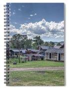 Nevada City Ghost Town - Montana Spiral Notebook