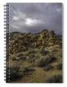 Nevada Desert Skies Spiral Notebook