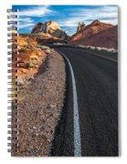 Nevada Highways Spiral Notebook