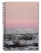 Nevada Morning Spiral Notebook