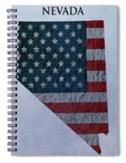 Nevada Topographic Map Spiral Notebook