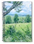 Never Ending Fields Spiral Notebook