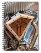 Never Forget Motorcycle Spiral Notebook