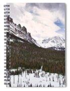 Never Summer Wilderness Area Panorama Spiral Notebook
