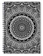 New Abstract Plaid Kaleidoscope Spiral Notebook