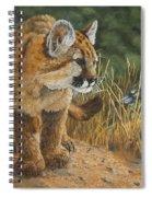 New Adventures - Cougar Cub Spiral Notebook