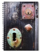 New And Old Locks Spiral Notebook