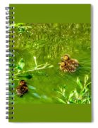 New Baby Ducklings Spiral Notebook
