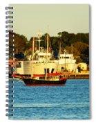 New Bedford Massachusetts 2 Spiral Notebook