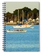 New Bedford Pier Spiral Notebook