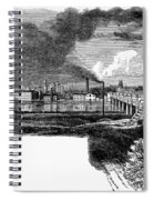 New Brunswick, 1876 Spiral Notebook