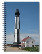 New Cape Henry Lighthouse Spiral Notebook