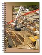 New Commercial Construction Site 02 Spiral Notebook