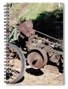 New Crop Antiquated Plow Spiral Notebook