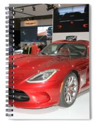 New Dodge Viper Spiral Notebook
