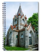 New England Cemetery Mausoleum Spiral Notebook