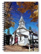 New England In New Jersey Spiral Notebook