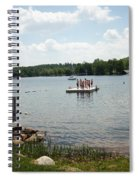 New England Lake Vacation Spiral Notebook