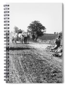 New England Road, C1910 Spiral Notebook