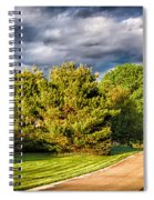 New England Spring 52 Spiral Notebook