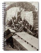 New England Train Wreck Spiral Notebook