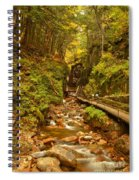 New England Waterfall Gorge Spiral Notebook