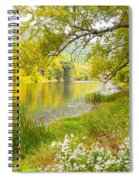 New Englands Early Autumn Spiral Notebook