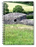 New Grange Architecture Spiral Notebook