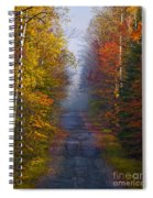 New Hampshire Back Road Spiral Notebook