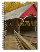New Hampshire Covered Bridge Spiral Notebook