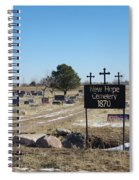 New Hope Cemetery Spiral Notebook