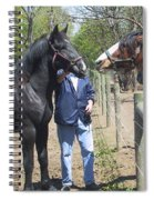 New Horse In The Herd Spiral Notebook