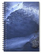 New Ice Blue Spiral Notebook