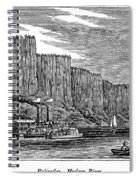 New Jersey Palisades Spiral Notebook
