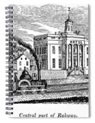 New Jersey Rahway, 1844 Spiral Notebook