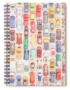 New Jersey Traffic Jam Spiral Notebook