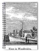 New Jersey Woodbridge Spiral Notebook