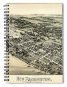 New Kensington Pennsylvania 1896 Spiral Notebook