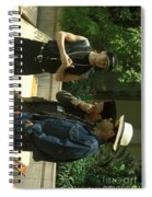 New Kids On The Block Spiral Notebook