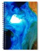 New Life - Abstract Landscape Art Spiral Notebook