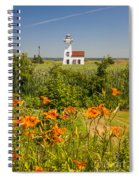 New London Range Rear Lighthouse Spiral Notebook