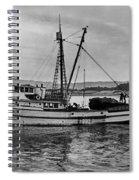New Marretimo Purse Seiner Monterey Bay Circa 1947 Spiral Notebook