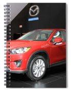 New Mazda Model Spiral Notebook