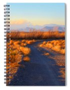 New Mexico Back Country Road Spiral Notebook