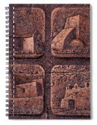 New Mexico Churches Spiral Notebook