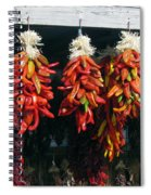 New Mexico Red Chili Peppers Spiral Notebook