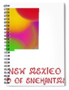 New Mexico State Map Collection 2 Spiral Notebook