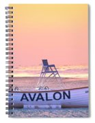 New Morning In Avalon Spiral Notebook