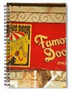 New Orleans - Bourbon Street 14 Spiral Notebook