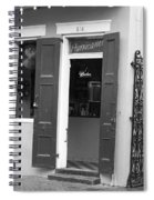 New Orleans - Bourbon Street 17 Spiral Notebook
